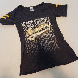 Medium WVU Mountaineers Graphic T Shirt